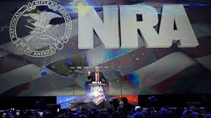The NRA gave Trump $11 million donation in 2016. He speaks at their conventions.