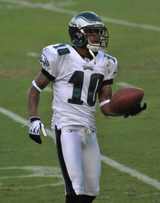 Eagles wide receiver DeSean Jackson returned a Giants punt for a stunning victory
