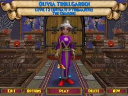 Meet Olivia. :D This is the Commons area you go to right after you log into the game.  Then you hit play or make a new character.