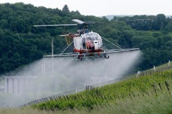 Attacked by the State Pesticide Helicopter