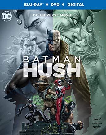 Batman: Hush Blu-ray cover.