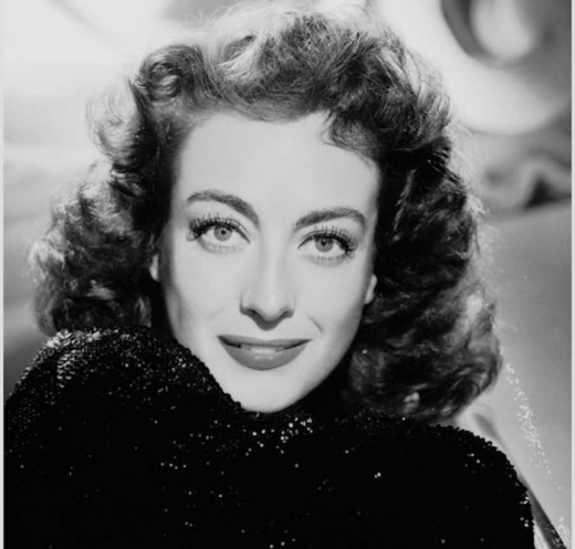 Beauty as well as determination were the hallmarks of actress Joan Crawford