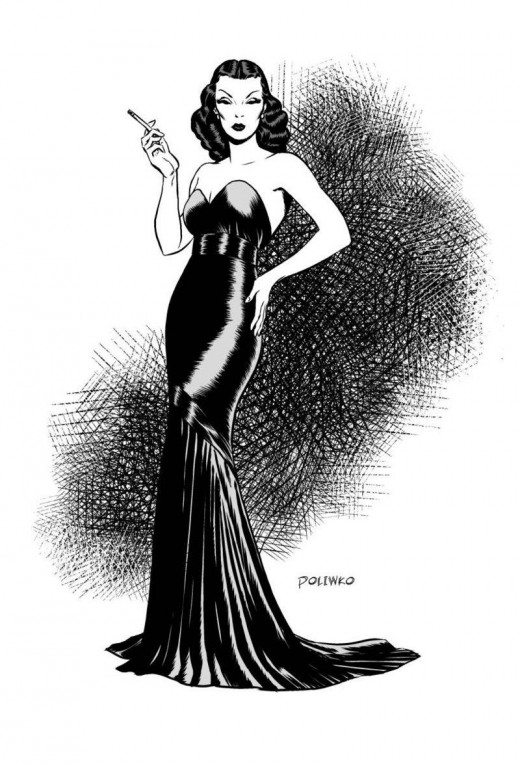 Cartoonist Milton Caniff used her caricature to create the Dragon Lady.