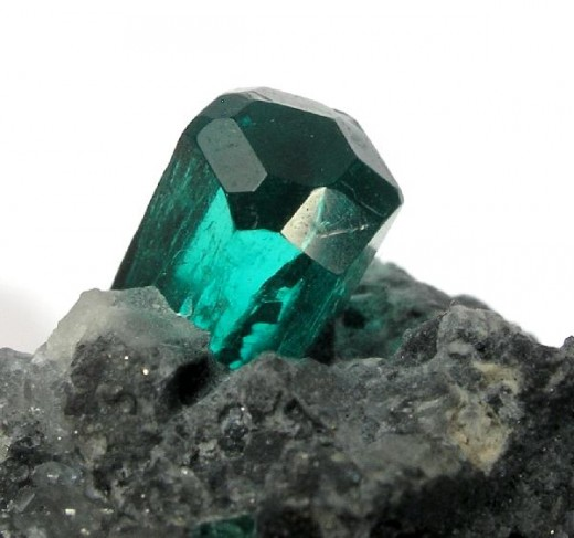 May's birthstone is emerald. Emerald and aquamarine are two different color varieties of the mineral beryl.