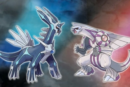 Legendaries for Pokémon Diamond and Pearl.