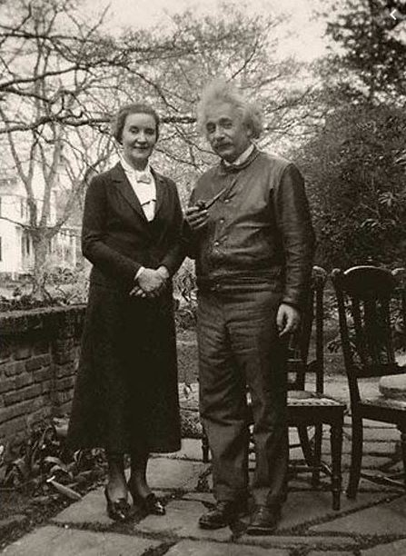 Einstein and his Russian spy lover Margarita Konenkova.