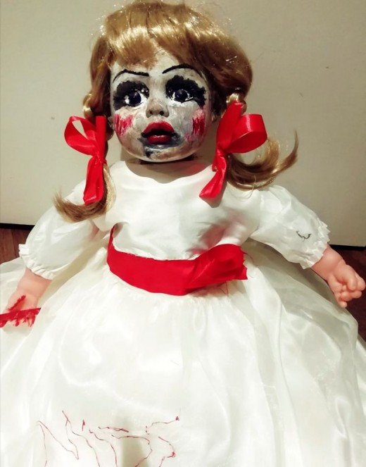 Evil Spirit Doll for Halloween