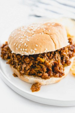 Quick and Easy Homemade Sloppy Joes