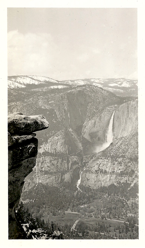 Photo taken by one of my ancestors in 1940 in Yosemite National Park, CA.