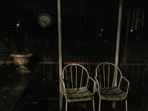 The Porch at night after some welcome rain