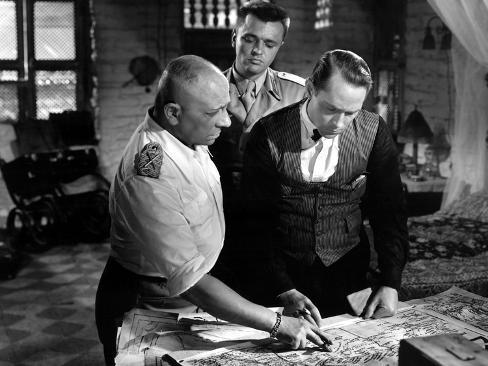 Rommel shows 'Davos' his map