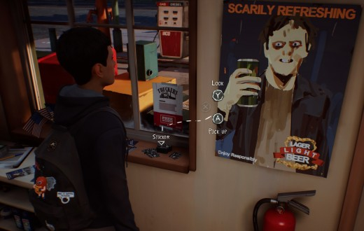 How much is that sticker in the window? It's free!