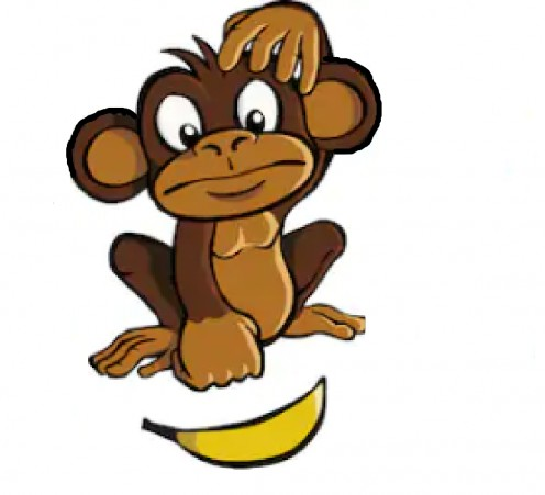 Eventually, only an invisible, mind-made barrier stood between each of the five monkeys and the banana.