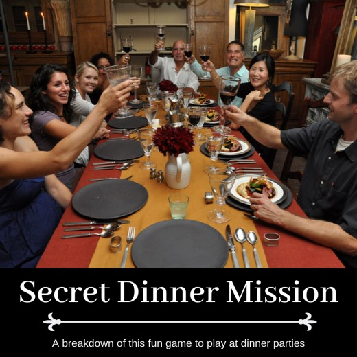 Learn how to spice up your dinner parties with this fun game of covert missions.