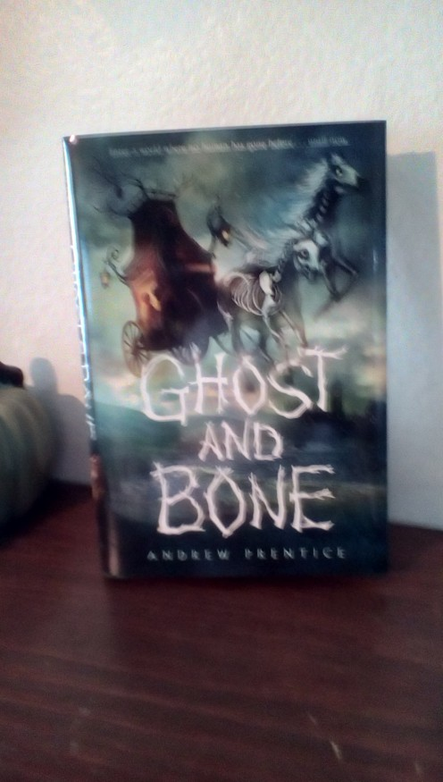 A great choice for young readers ages 8-12 for Halloween gifting.  Enjoy a spooky ride in a ship of bones.