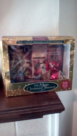 Christmas Magic With Beautiful Storybook and Ornament Set
