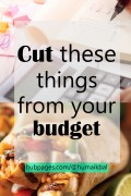 3 Things You Can Cut From Your Budget to Save Money