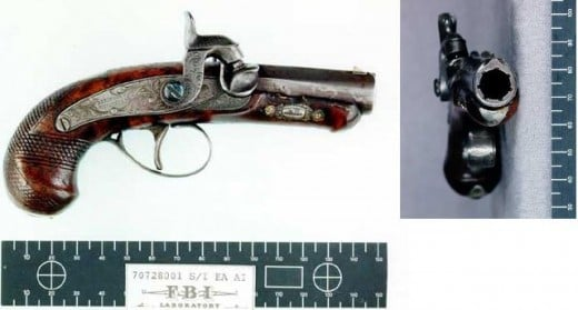 The gun that shot Goliath with little to no effect but shot President Lincoln fatally.