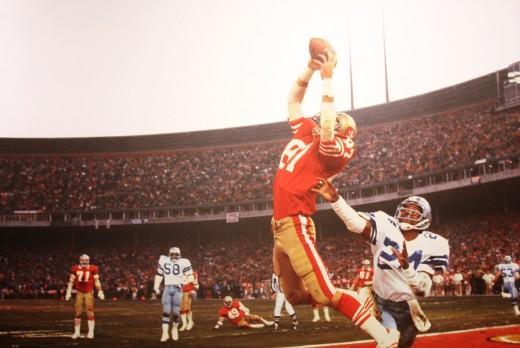 The Catch is a memorable NFL moment that defined Dwight Clark's career.