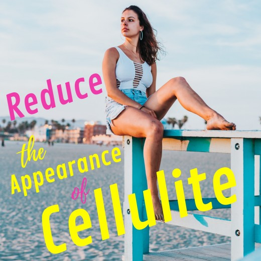 Learn how to make cellulite disappear on a budget.