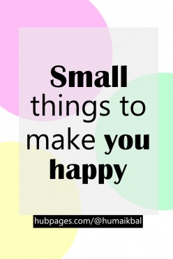 Small Things That Bring a Lot of Happiness but don't cost a lot