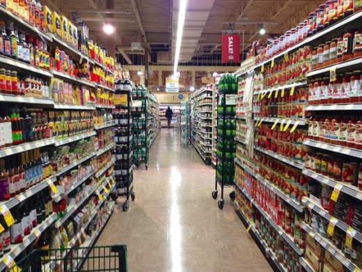 Long Distance in Super Markets