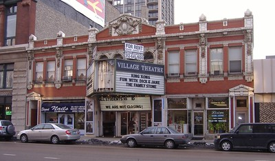 The Village Theatre back in the day