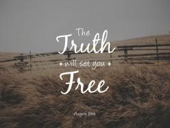 Truth Set Free