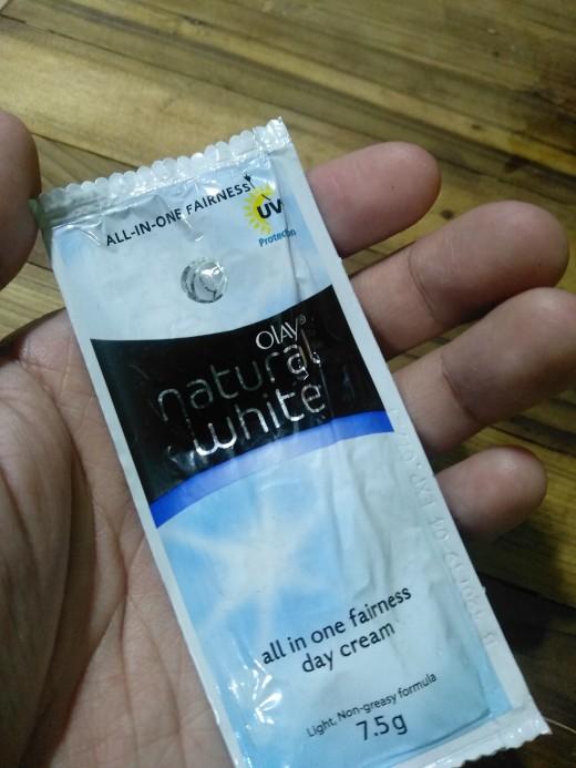 Olay Natural White Sachet