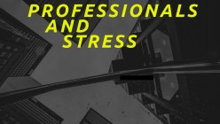 Professionals and Stress