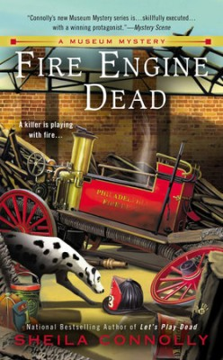Book Review: Fire Engine Dead by Sheila Connolly