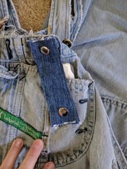 Bib-overalls Cellphone Pocket Retainer