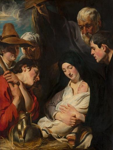 Adoration of the Shepherds (1616, New York, Metropolitan Museum)