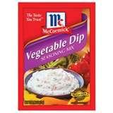 ANY KIND OF vegetable DIP WORKS