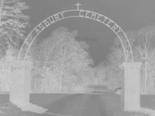 Asbury Cemetery - Van Vleet, Mississippi