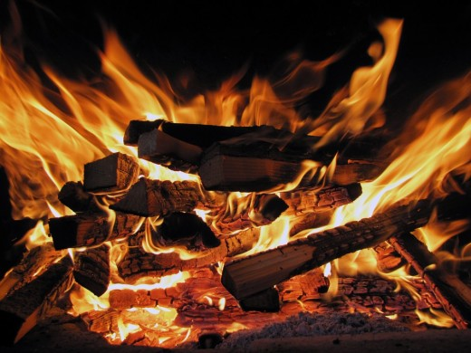 Druids would create a bonfire for Sanhaim to represent the sun, which would be waning for the next half year.