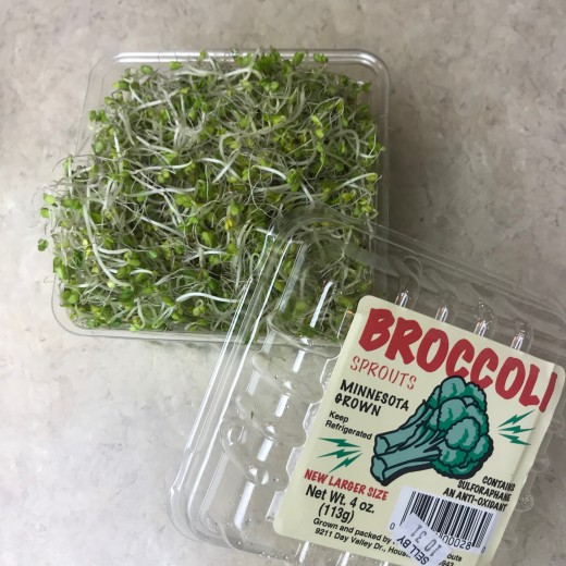 Again, you can use any kind of sprouts you have available to you. I just prefer broccoli sprouts because they have the best flavor to me, plus I'm more fond of them because of their nutritional profile.