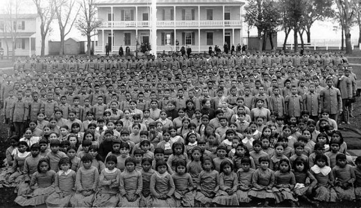 The Carlisle school was used to assimilate and educate thousands of Native Americans, aiming to destroy their Indian identity and make them into Americans.