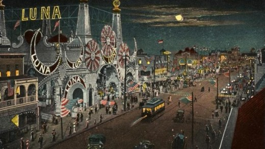 Amusement parks in the United States brought about a new style of leisure.