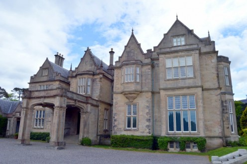 The owner of Blarney Castle and gardens lives on the estate at Blarney House, which is open for tours part of the year.