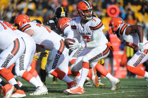 Former Cleveland Browns quarterback DeShone Kizer is one of several players who the team drafted in recent years to become a franchise quarterback. Kizer turned out to be among the worst, going 0-15 in his starts.