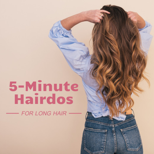 Master these five styles and your long hair will look great (even when you're running late).