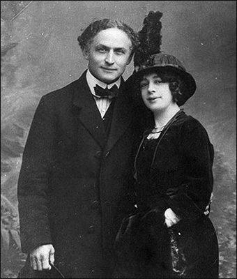 Harry Houdini and Wife