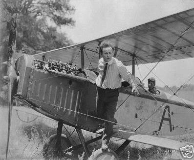Harry Houdini and his plane