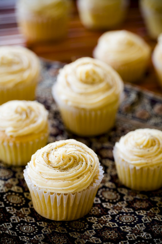 Thai lemongrass cupcakes