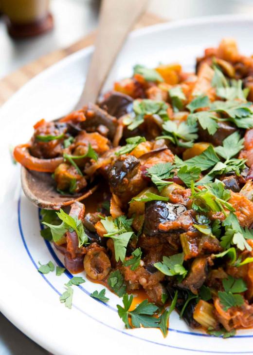 Delicious Eggplant Caponata