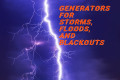 Generators for Storms, Floods, and Blackouts