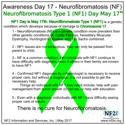 NF (Neurofibromatosis) Voices:  What Some of Us Want You to Know