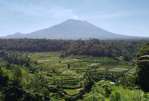 Mt. Agung Volcano