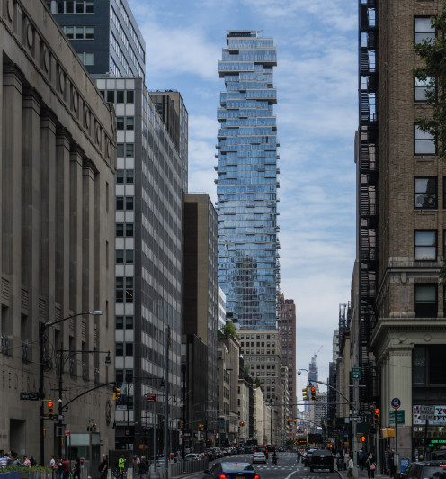 56 Leonard Street - AKA the Jenga Tower